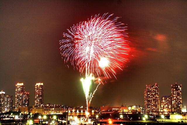 横浜開港祭の花火【ビームスペクタクルINハーバー】体験レポ