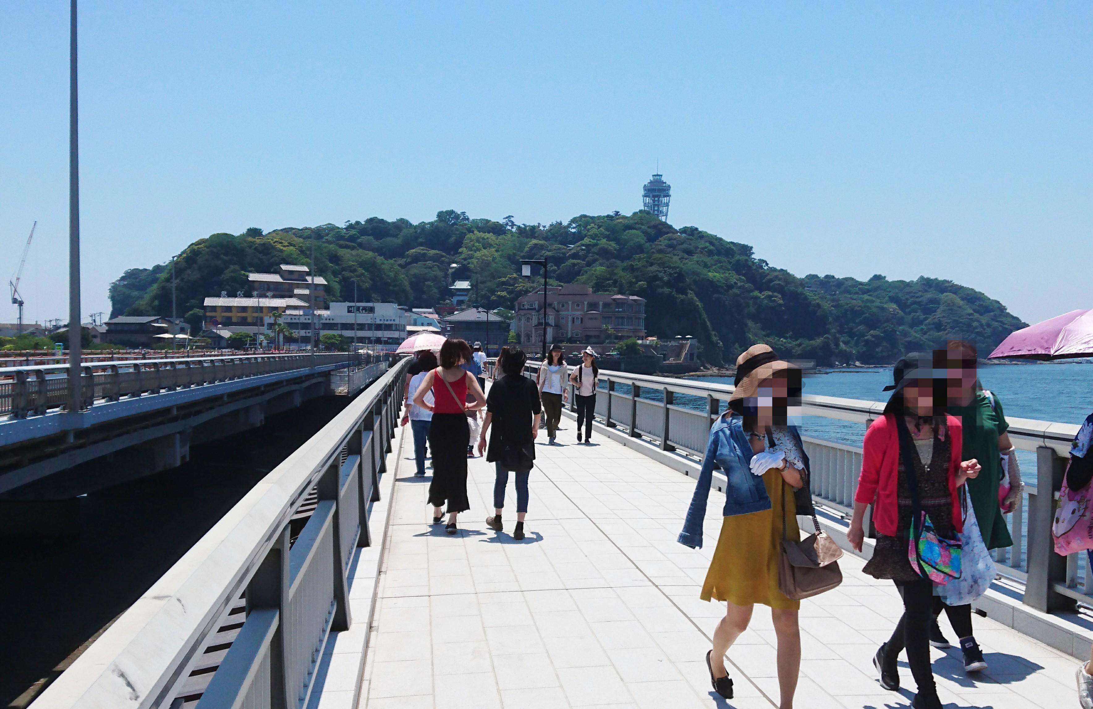 江ノ島で子供と遊ぼう 超絶楽しんでたのは江ノ島の裏側
