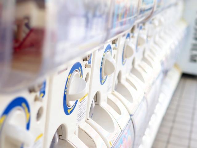 900台のガチャガチャがある横浜ヨドバシカメラ あなたの好きな物も見つかるはず