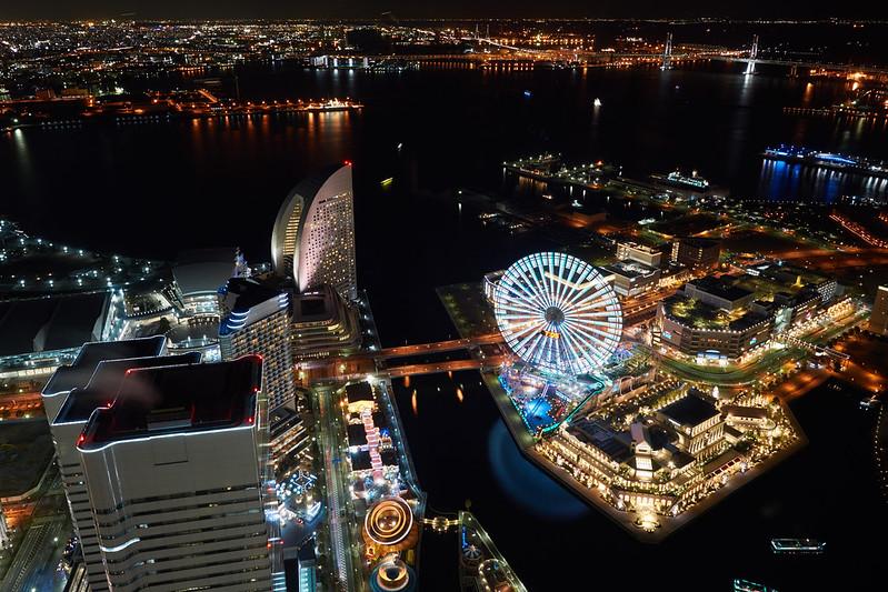 デートにオススメ!360度、最高の景色を眺められる【横浜ランドマークタワーのスカイガーデン】