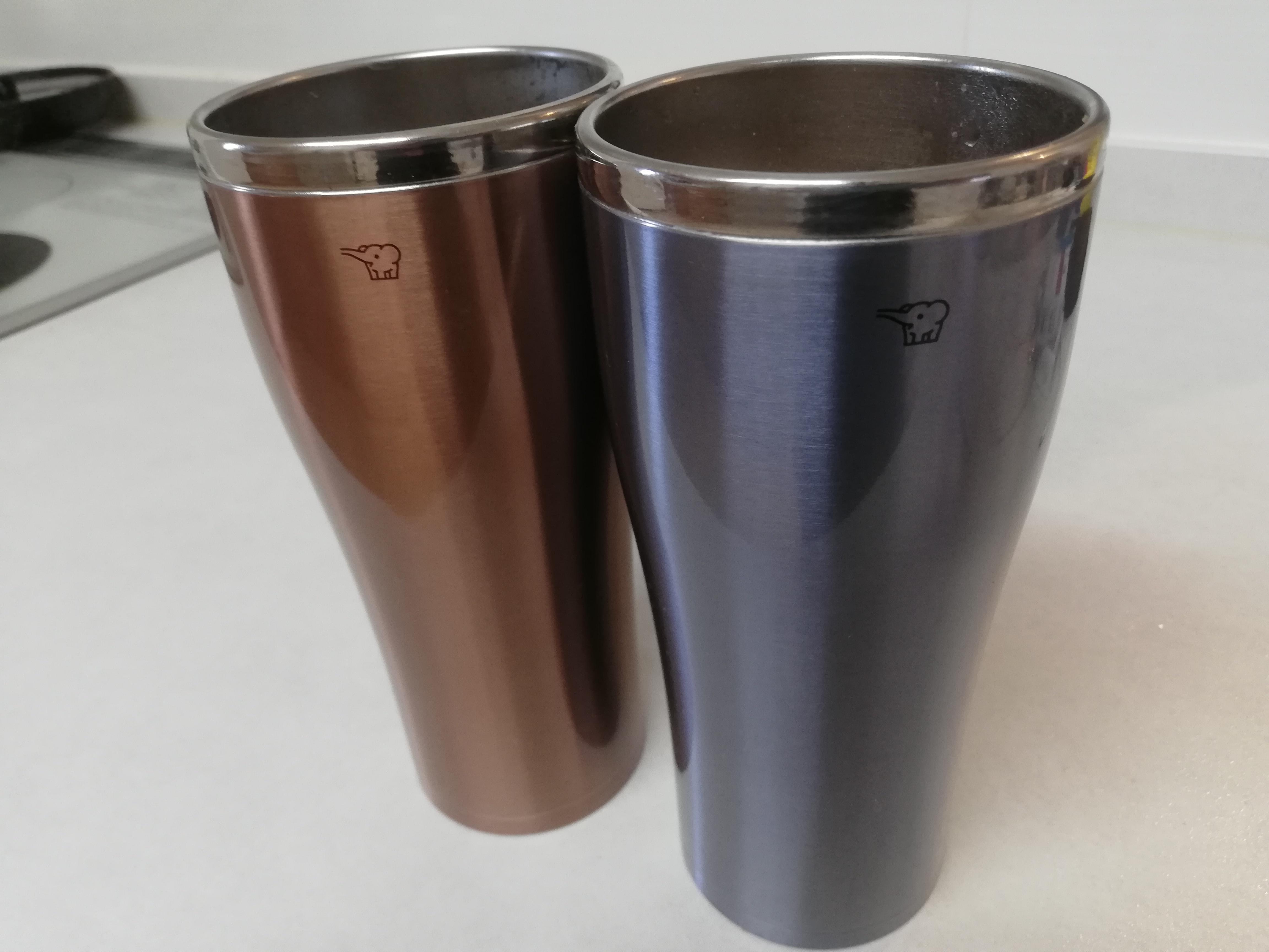 象印の魔法瓶タンブラーがデザイン、保温保冷、大きさ、すべてにおいて完璧!